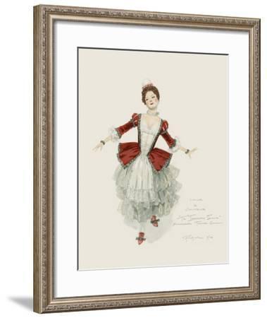 Columbine--Framed Art Print