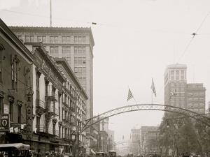 Columbus, Ohio, High St. North from State