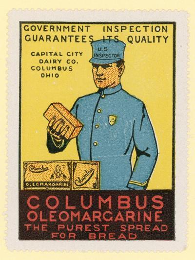 Columbus Oleomargarine--Giclee Print