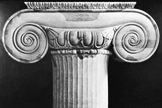 Column Capital from Temple of Artemis at Ephesus--Photographic Print