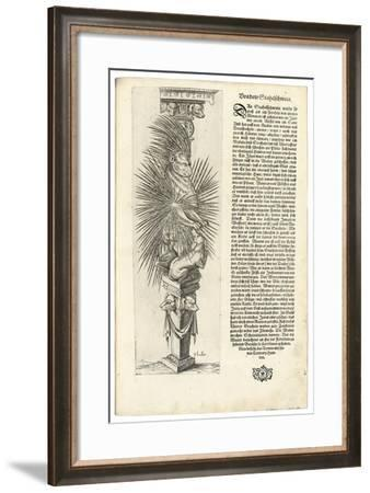Column Decorated with an Animal Form, 1604-Joseph Boillot-Framed Giclee Print