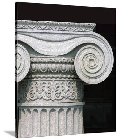 Column detail, U.S. Treasury Building, Washington, D.C.-Carol Highsmith-Stretched Canvas Print