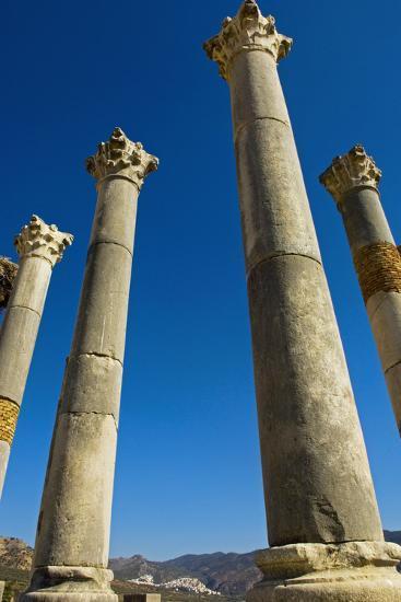 Column in Capitol in Ancient Roman City-Design Pics Inc-Photographic Print