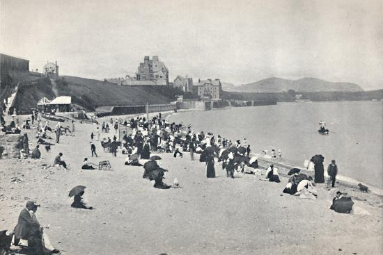 'Colwyn Bay - The Sands', 1895-Unknown-Photographic Print