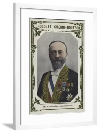 Combarieu, Ambassadeur--Framed Giclee Print