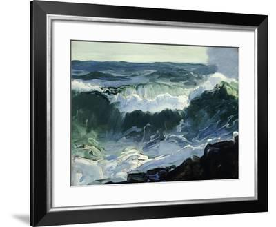 Comber-George Wesley Bellows-Framed Giclee Print