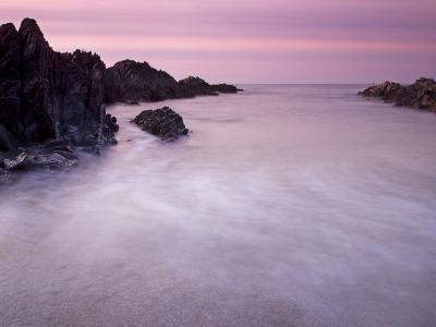 Combesgate Beach, Devon, England, United Kingdom, Europe-Jeremy Lightfoot-Photographic Print