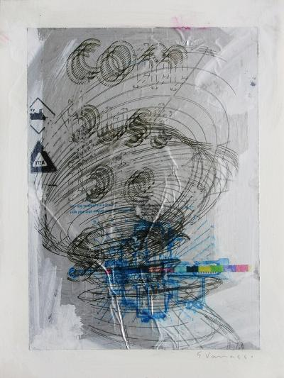 Combustible-Enrico Varrasso-Art Print