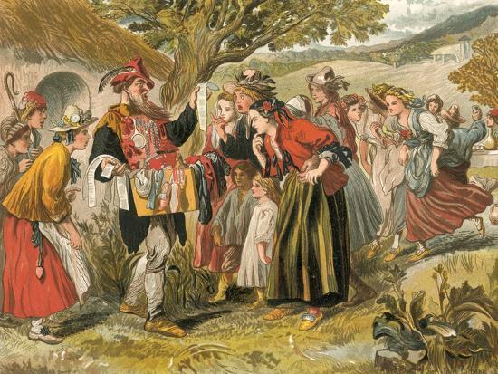 Come Buy of Me-Sir John Gilbert-Giclee Print