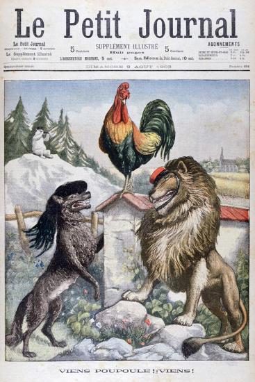Come Cockerel, Come!, 1903--Giclee Print