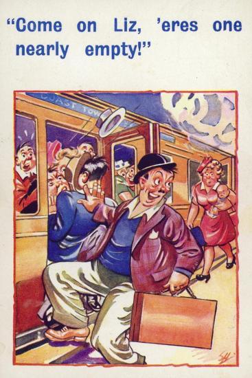 Come on Liz, 'Eres One Nearly Empty--Giclee Print