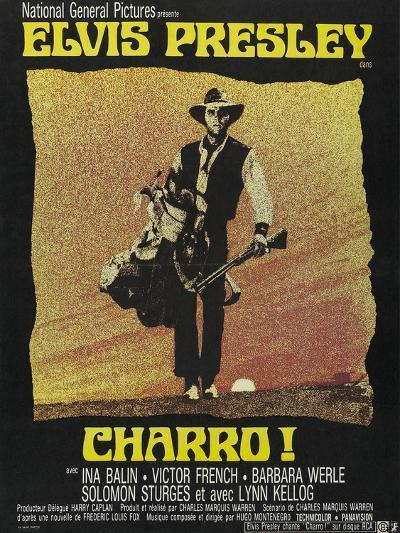 """Come Sundown, Come Hell, 1969, """"Charro"""" Directed by Charles Marquis Warren--Giclee Print"""