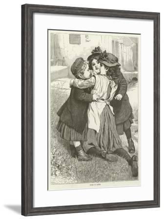 Come to Grief--Framed Giclee Print