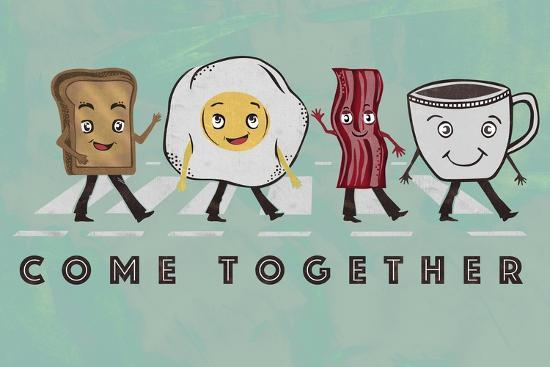 Come Together-Longfellow Designs-Art Print