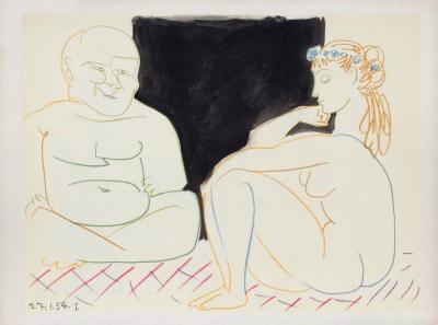Comédie Humaine : 27.1.54. I-Pablo Picasso-Premium Edition