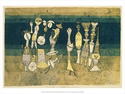Comedy, 1921-Paul Klee-Art Print