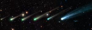 Comet ISON, time-lapse montage