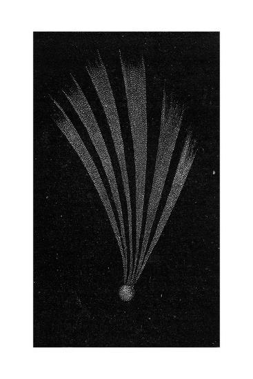 Comet of 1744, 19th Century Artwork-Science Photo Library-Giclee Print