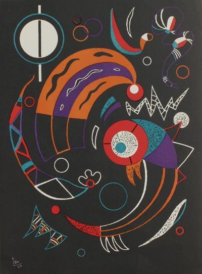 Cometes-Wassily Kandinsky-Premium Edition