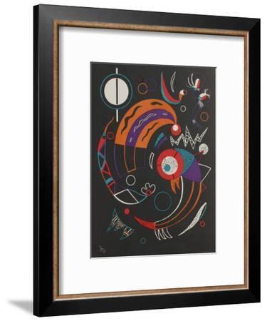Cometes-Wassily Kandinsky-Framed Premium Edition