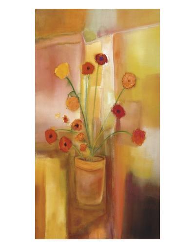 Comfort of Flowers-Nancy Ortenstone-Art Print