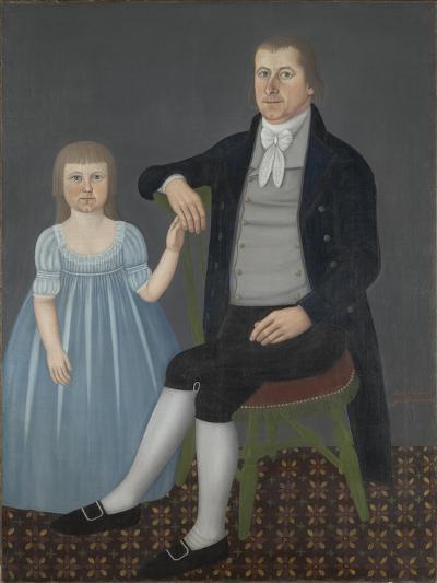 Comfort Starr Mygatt and Lucy Mygatt, 1799-John Brewster-Giclee Print