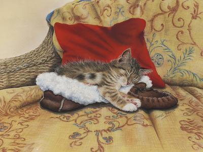 Comfy Slipper-Janet Pidoux-Giclee Print