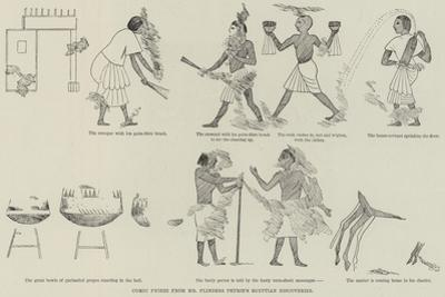 Comic Frieze from Mr Flinders Petrie's Egyptian Discoveries