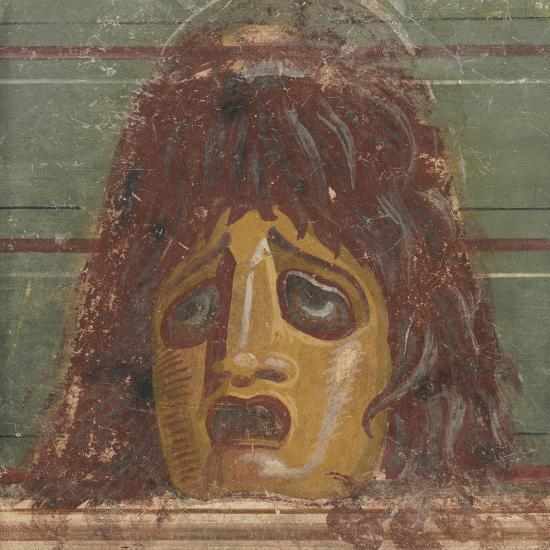 Comic Mask-Unknown-Giclee Print