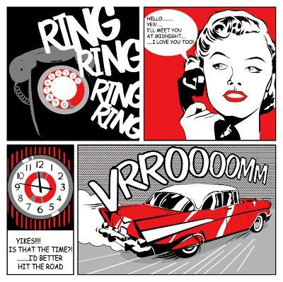 Comic Strip I-Tom Frazier-Art Print