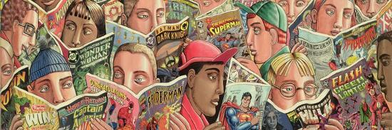 Comic Strip-PJ Crook-Giclee Print