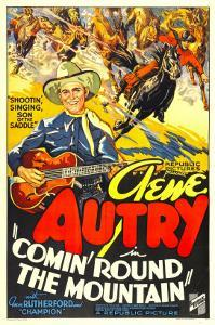 Comin' Round the Mountain, Gene Autry, Smiley Burnette, 1936