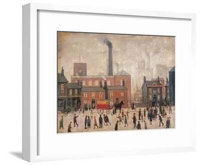 Coming Home from the Mill-Laurence Stephen Lowry-Framed Premium Giclee Print