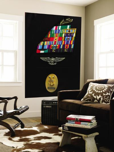 Command Master Chief Badge--Wall Mural