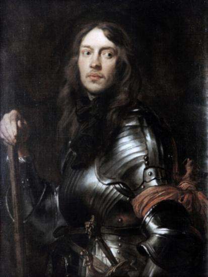 Commander in Armour, with a Red Scarf,' C1625-1627-Sir Anthony Van Dyck-Giclee Print