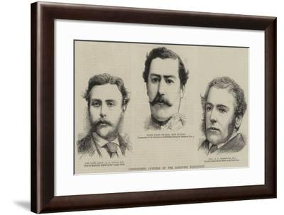 Commanding Officers of the Ashantee Expedition--Framed Giclee Print