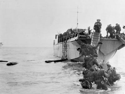 Commando Operations During the Invasion of Normandy, June 1944-English Photographer-Photographic Print
