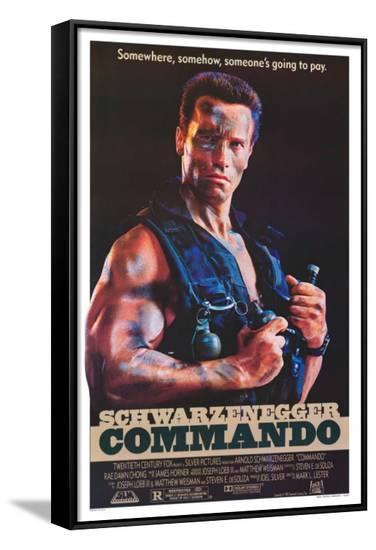 Commando--Framed Canvas Print