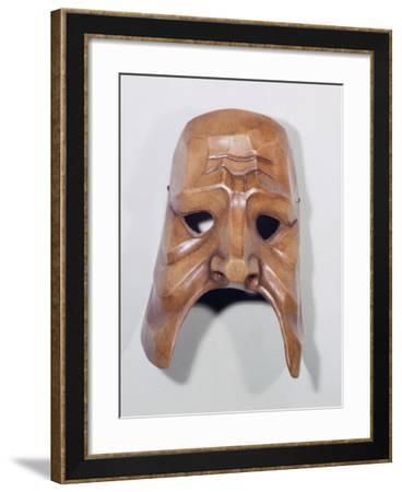 Commedia Dell'Arte Mask, 1965--Framed Giclee Print