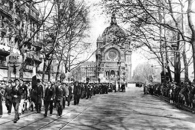 Commemorating Joan of Arc at the Church of St Augustin, Paris, 1931-Ernest Flammarion-Giclee Print