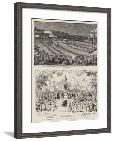 Commemorating the French Revolution in Paris-Adrien Emmanuel Marie-Framed Giclee Print
