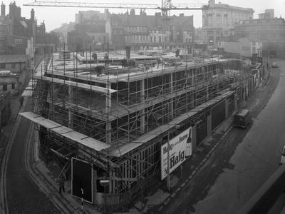 Commercial Development on Campo Lane, Sheffield, South Yorkshire, 1968-Michael Walters-Photographic Print