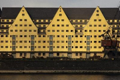 Commercial Docks in Cologne, North Rhine-Westphalia, Germany--Photographic Print