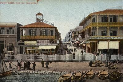 Commercial Road, Port Said, Egypt--Photographic Print