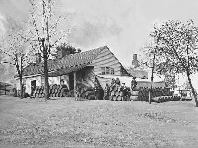 Commissary Headquarters, Rocky Face Ridge, Georgia, During the American Civil War-Stocktrek Images-Photographic Print
