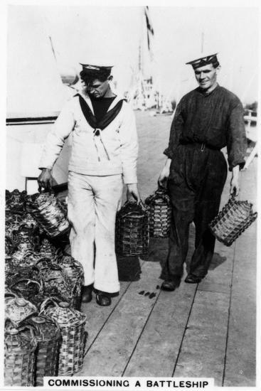 Commissioning a Battleship, 1937--Giclee Print
