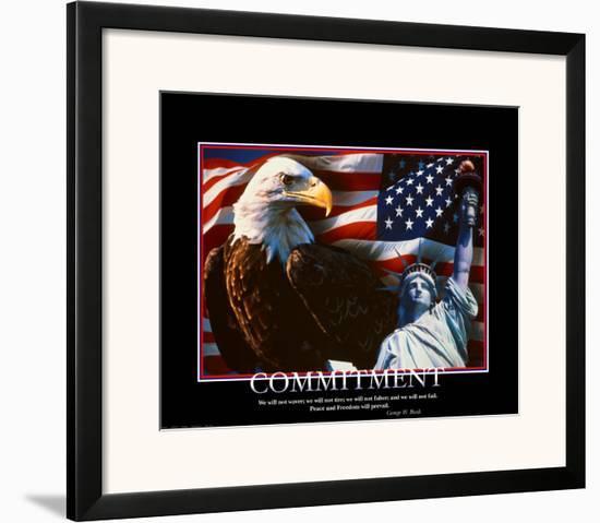 Commitment--Framed Art Print