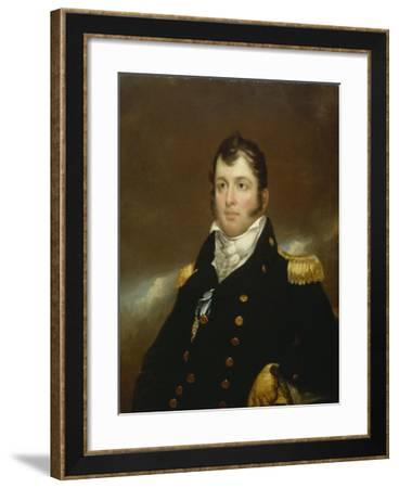 Commodore Oliver Hazard Perry, c.1814-John Wesley Jarvis-Framed Giclee Print