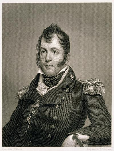 Commodore Oliver Hazard Perry-John Wesley Jarvis-Giclee Print