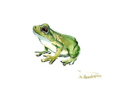 Common Frog-Suren Nersisyan-Art Print